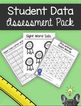 Student Data Assessment Pack