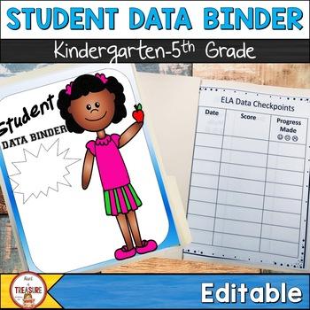 Student Data Binder (Editable)