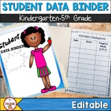 Student Data Binder (Editable)
