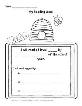 Student Data Binder (Bee Theme)