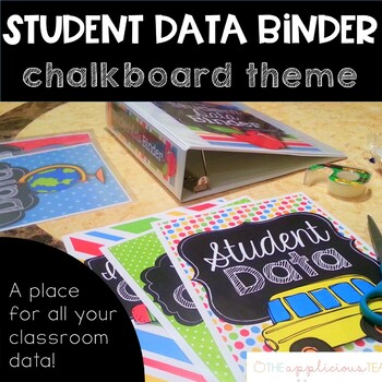 student data binder by the applicious teacher teachers pay teachers