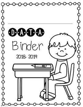 Student Data Binder Covers