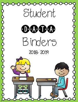 student data binder covers by in the classroom with mrs o tpt
