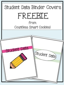 Student Data Binder Covers FREEBIE