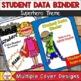 Student Data Binder (Editable) Superhero Theme
