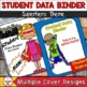 Student Data Binder (Editable) Superhero Theme