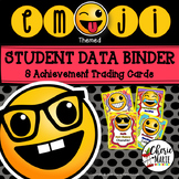 Student Data Tracking Sheets Student Data Binder Editable Emoji