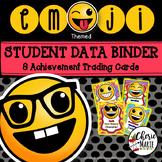 Student Data Tracking Sheets Student Data Binder Editable Emoji