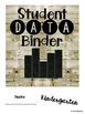 Student Data Binder, Graphs, Goals & Reflection: Shiplap Farmhouse Country Chic