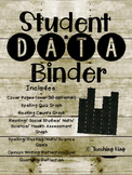 Student Data Binder, Graphs, Goals & Reflection: Shiplap F
