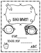 Student Data Binder (Letter, Sounds, Sight Words)