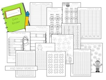 Student Data Binder - Notebook - Folder