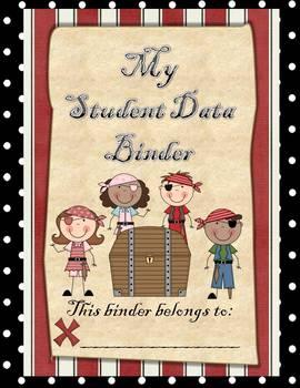 Student Data Binder (Pirate Theme)