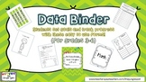Student Data Binder for Goal Setting and Tracking Progress