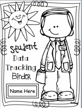 Student Data Binders and Data Tracking Forms for Progress Monitoring