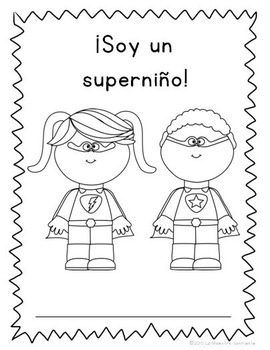 Student Data Booklets: Alphabet, Syllables, and Numbers (Spanish)