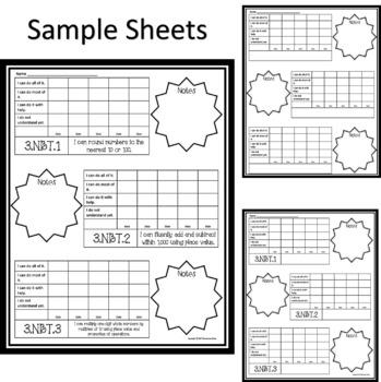 Growth Mindset: Student Data Folder to Self-Monitor Progress (Math)