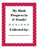 Student Data Common Core Math Notebook