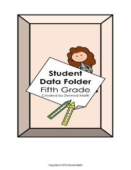 Fifth Grade Student Data Folder