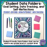 Student Data Folder-Goal Setting, Data Tracking Charts, and Self Reflections