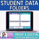 Student Data Folder-Goal Setting, Data Tracking Charts, and Self Reflections