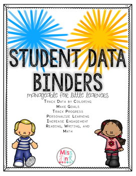 Student Data Folders for Primary Students!