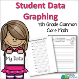4th Grade Student Data Graphing {Aligned with Common Core Math}