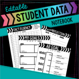 Editable Student Data Notebook