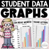 Student Data Graphs, Goal-Setting, and Self-Reflection Sheets (K-2)