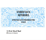 Student Data Notebook Forms