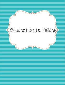 Student Data Notebook Inserts