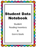 Student Data Notebook: Reading Inventory & Genre