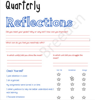 Student Data Notebook for Science
