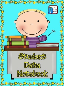 Student Data Notebook with Common Core Style Checklists