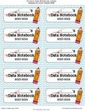 Student Data Notebook/Binder/Folder Labels
