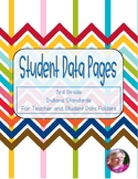 Student Data Pages for 3rd Grade Indiana Standards