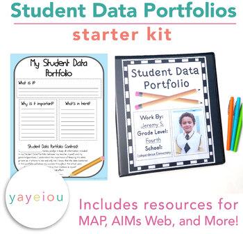 Student Data Portfolio Starter Kit - Resources for AIMSWeb & MAP
