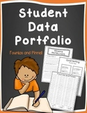 Student Data Portfolio aligned with Fountas & Pinnell w/ Intervention Recording