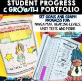 Student Progress & Growth Portfolio {Troll Themed}