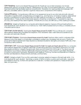 Student Data Report