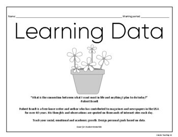 Data Notebook: Student Self Assessment And Goal Setting