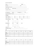 Student Data Sheet