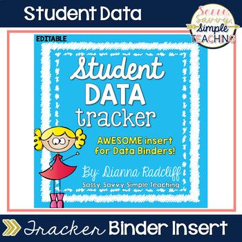 Student Data Tracker Form [FREE]