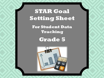 Student Data Tracker for Fifth Grade STAR Assessment