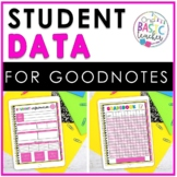 Student Data Tracker with GoodNotes
