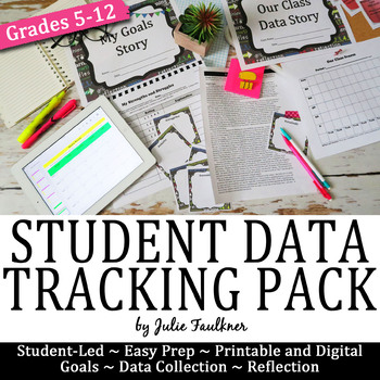 Data, Goals, & Reflection Tracking Portfolio, Student-Directed