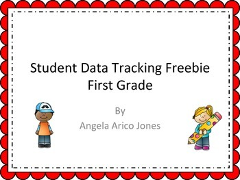 Student Data Tracking Math