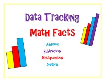 Student Data Tracking: Math Fact Package