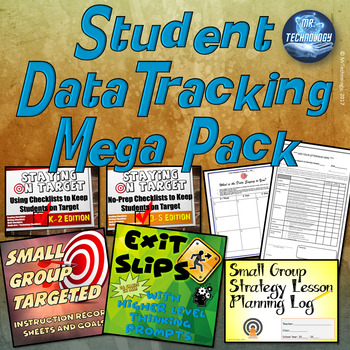 Student and Teacher Data Tracking Mega Pack