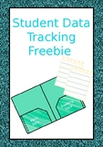 Student Data Tracking Sample